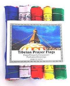 Bandeira de Oração Tibetana G