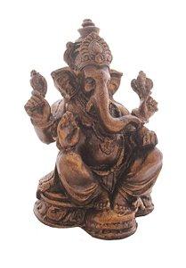 Ganesha Marrom 18cm