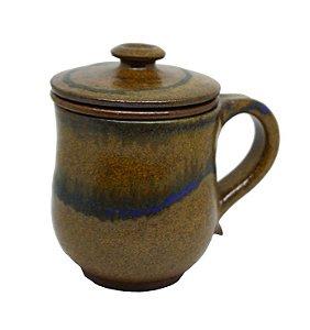 Caneca c/ Infusor p/ Chá Cerâmica