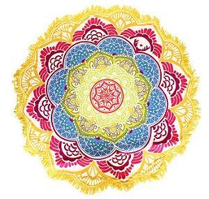 Canga Redonda Mandala Amarela
