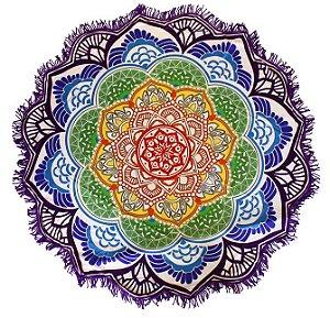 Canga Redonda Mandala Roxa