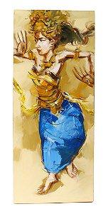 Tela Bailarina Balinesa E