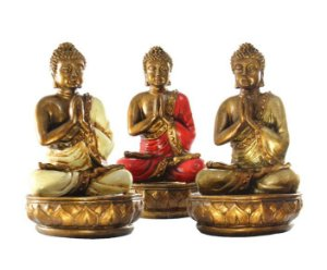 Buda Castiçal 18cm