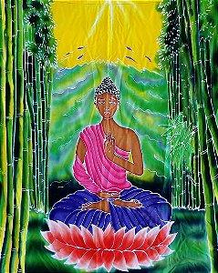 Panô Batik Buda