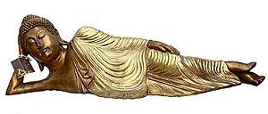 Buda Resina Deitado