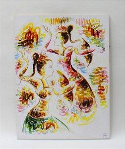 Tela Dançarinas Balinesas