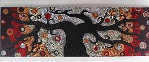 Tela Dots árvore