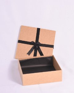 Caixa em MDF para presente (22 x 22 x 8cm de profundidade)