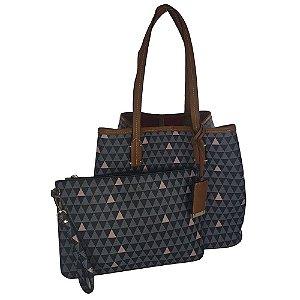 Bolsa Bag Dreams Triangle Luany Preta