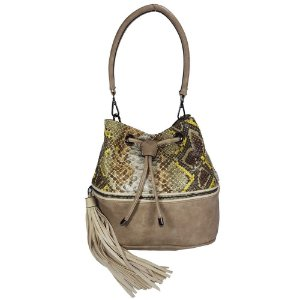 Bolsa Bag Dreams Saco Cobra Kahki