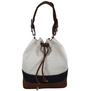 Bolsa Bag Dreams Saco Triangle Branca