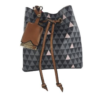 Bolsa Bag Dreams Mini Saco Triangle Preta