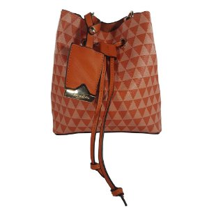 Bolsa Bag Dreams Mini Saco Triangle Laranja