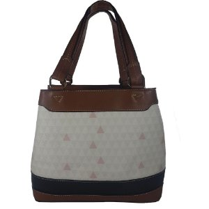 Bolsa Bag Dreams Ombro Triangle Branca