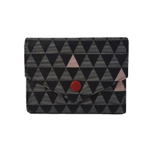 Mini Carteira Bag Dreams Triangle Preta