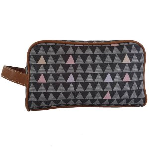 Necessaire Bag Dreams Triangle Preta