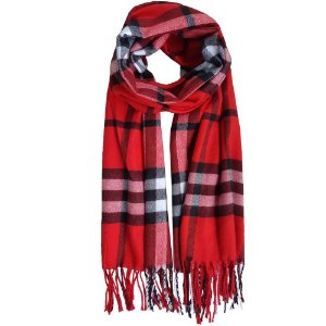 Pashmina Bag Dreams Inspired Burberry Vermelha