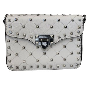 Bolsa Bag Dreams Tacia Com Spikes Branca