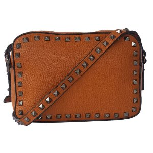 Bolsa Bag Dreams Lara Com Spikes Caramelo