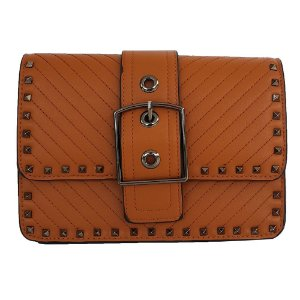 fc16d928e Mini Bolsa Bag Dreams Animal Print Com Spikes Caramelo - Bolsas ...