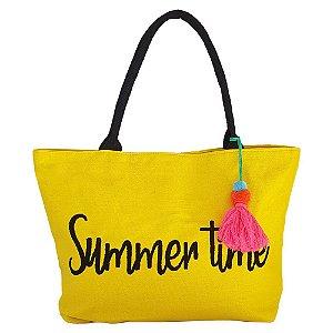 Bolsa Bag Dreams De Praia Summer Amarela