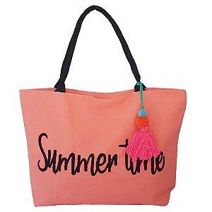 Bolsa Bag Dreams De Praia Summer Salmão