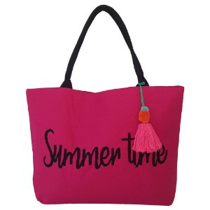Bolsa Bag Dreams De Praia Summer Pink