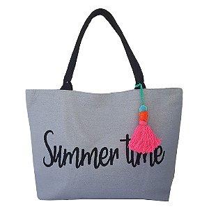 Bolsa Bag Dreams De Praia Summer Cinza