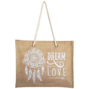 Bolsa Bag Dreams De Praia Barcelona Dreams Love Branca