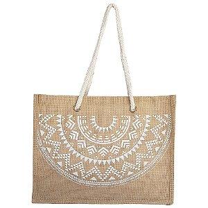 Bolsa Bag Dreams De Praia Barcelona Mandala Branca