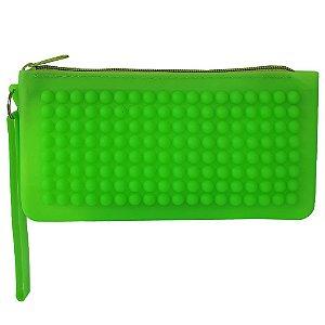 Necessaire Bag Dreams Impermeável Verde Água
