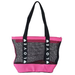 Bolsa Bag Dreams De Praia Love Rosa
