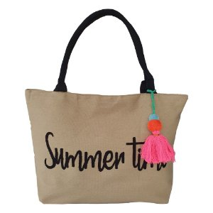 Bolsa Bag Dreams De Praia Summer Bege