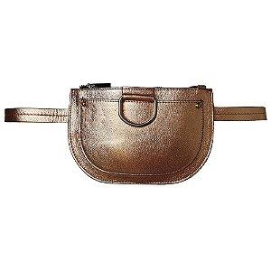 Pochete Bag Dreams Metalizada Cobre