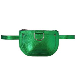 Pochete Bag Dreams Metalizada Verde