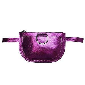 Pochete Bag Dreams Metalizada Rosa