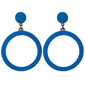 Brincos Bag Dreams Malibu Azul Piscina