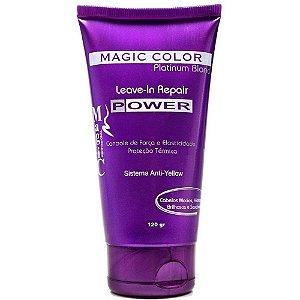Magic Color Reparador e Desamarelador Platinium Blond Leave-in Repair 120g