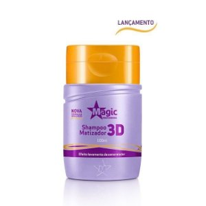 Magic Color Mini Shampoo Matizador 3D Efeito Levemente Desamarelador 100ml