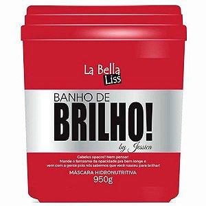 La Bella Liss Banho de Brilho Máscara Hidronutritiva 950g