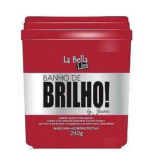 La Bella Liss Banho de Brilho Máscara Hidronutritiva 240g