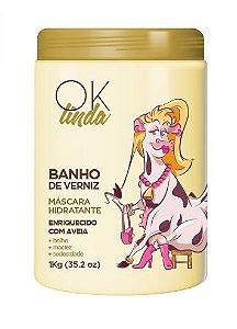 Portier Ok Linda Banho De Verniz Mascara Hidratante -1kg