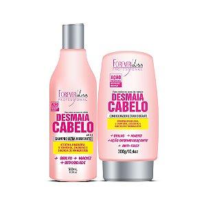 Forever Liss  Kit Desmaia Cabelo Shampoo e Condicionador