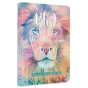 BKJ 1611 Ultra Fina Lettering Bible Leão