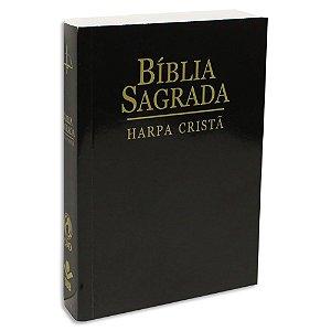 Bíblia com Harpa Letra Maior Preta
