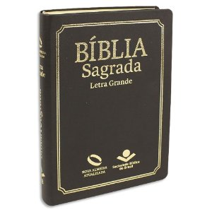 Bíblia NAA Letra Grande e Índice Preta
