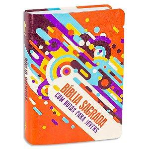 Bíblia NTLH com Notas para Jovens capa Ilustrada