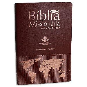 Bíblia Missionária de Estudo Vinho