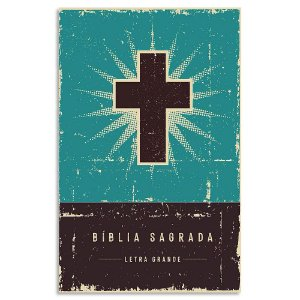 Bíblia Leitura Perfeita Letra Grande Retrô