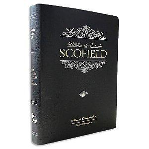 Bíblia de Estudo Scofield ACF Grande Preta